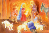 Print: The Shepherds' Adoration