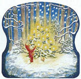 Christmas in the Forest: Large Advent Calendar
