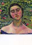 Postcard: Portrait of Laetitia Raviola