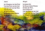 Postcard: Meditation: Morgen-Abend