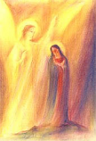 The Annunciation: Folded card