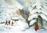 Christmas in the Mountains: Medium Advent Calendar