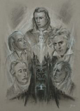 Print: Five Champions of the Spirit
