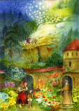 Christmas Roses: Small Advent Calendar