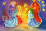 Postcard: The Kings' Adoration