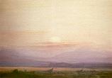 Postcard: Evening Landscape: The Loch