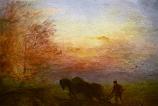 Postcard: Ploughing – An Autumn mood