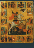 Postcard: Greek Icon: Saint George