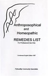 Anthroposophic and Homeopathic Remedies List