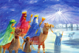 Postcard: The Three Kings