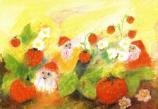 Postcard: Dwarfs and Strawberries