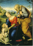 Postcard: Madonna of the Lamb
