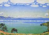 Postcard: Landscape by Lake Geneva