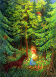 Print: Little Red Riding Hood