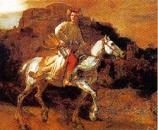 Print: The Polish Rider