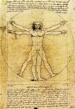 Print: Leonardo: Proportions of Man