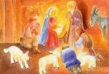 Postcard: The Shepherds' Adoration