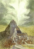 Postcard: Moses Strikes the Rock