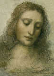 Postcard: Head of Christ