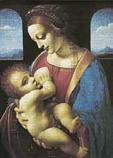 Postcard: Madonna Litta