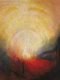 Postcard: Christ entering Jerusalem
