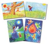 Jan Stebbing set of postcards
