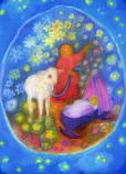 Postcard: Dreaming of a lamb